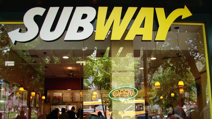 Fast food restaurant 'Subway'